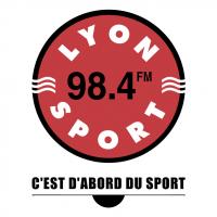 Lyon Sport 98 4 FM vector