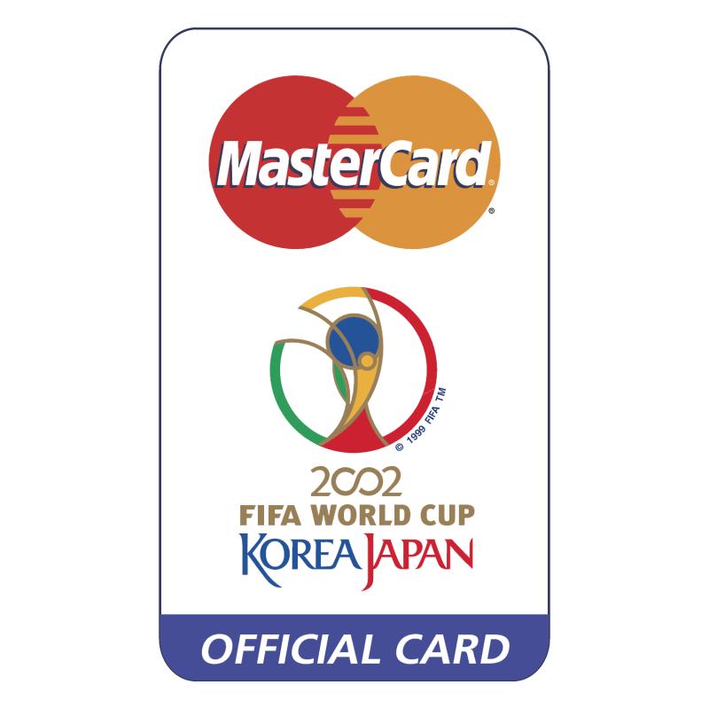 MasterCard 2002 World Cup Sponsor vector logo