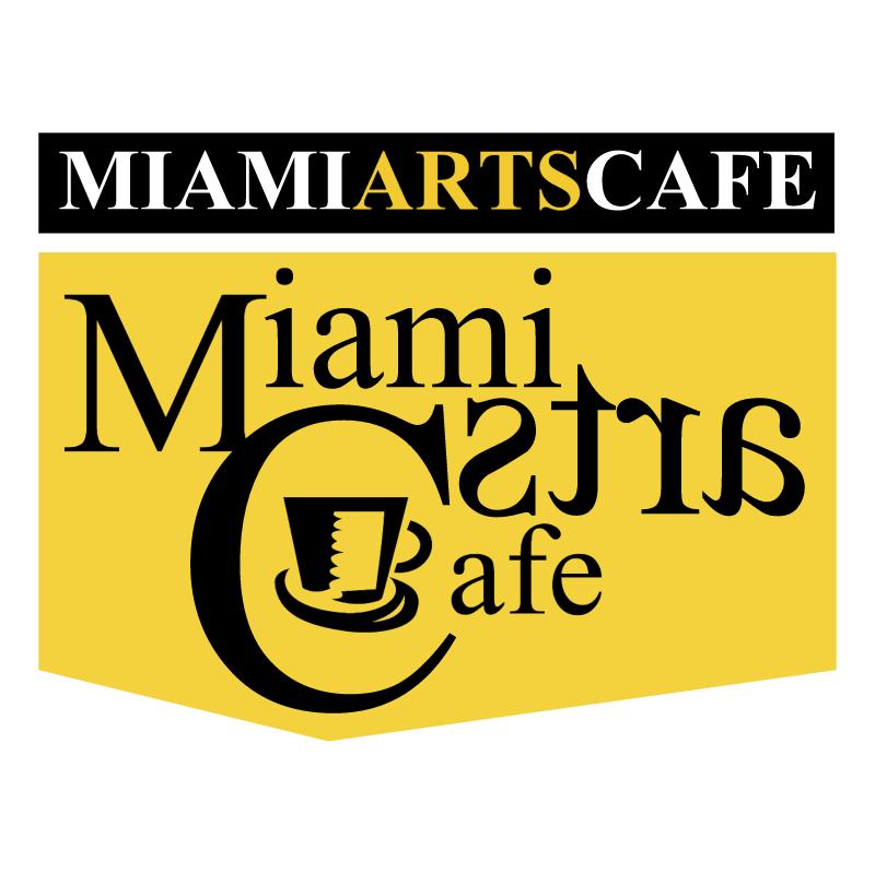 Miami Arts Cafe vector
