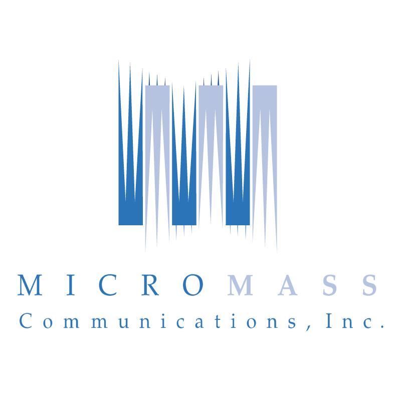 Micromass Communications vector