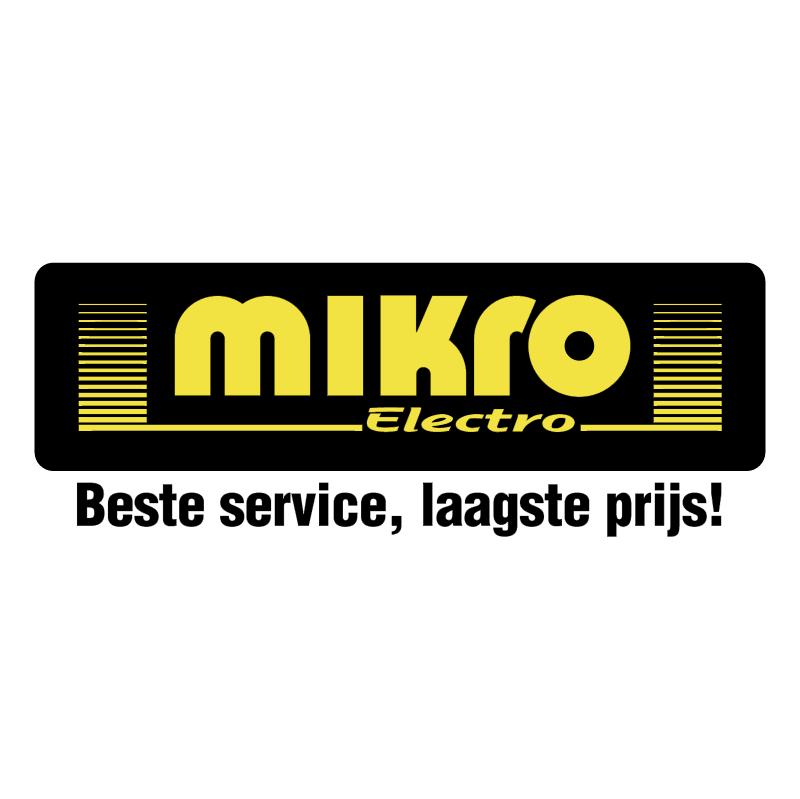 Mikro Electro vector