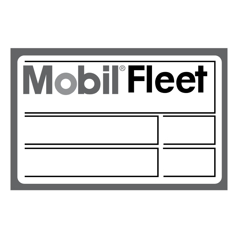 Mobil Fleet vector