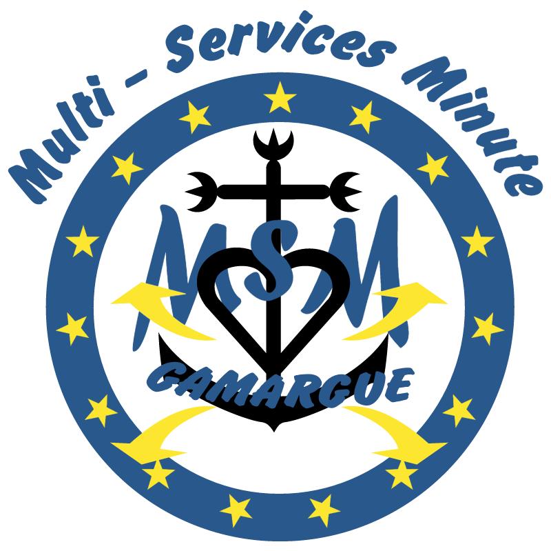 Multi Services Minute vector logo