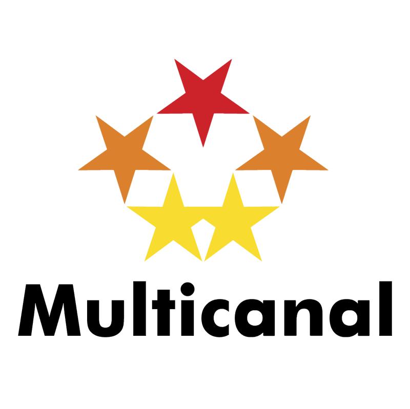 Multicanal vector logo
