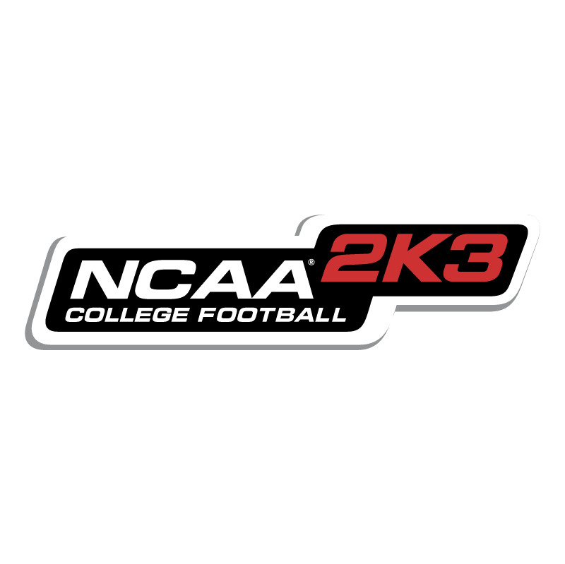 NCAA 2K3 College Football vector
