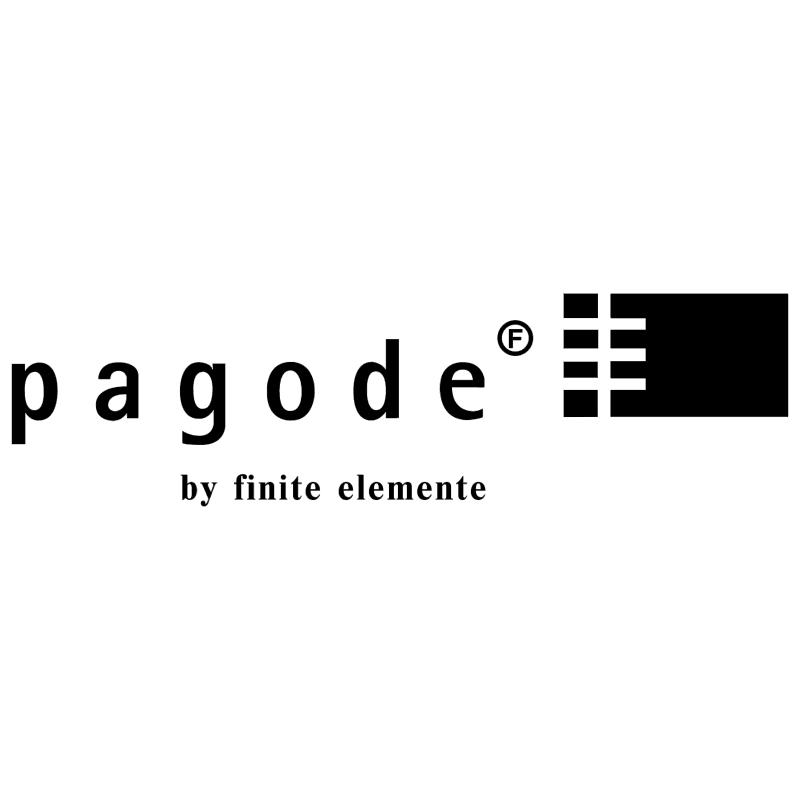 pagode vector logo