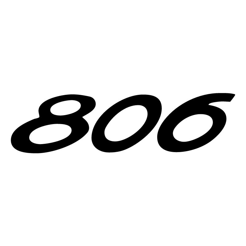 Peugeot 806 vector logo