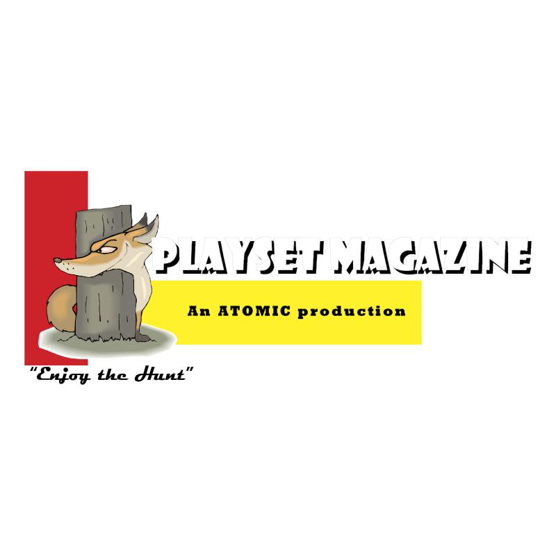 Playset Magazine vector