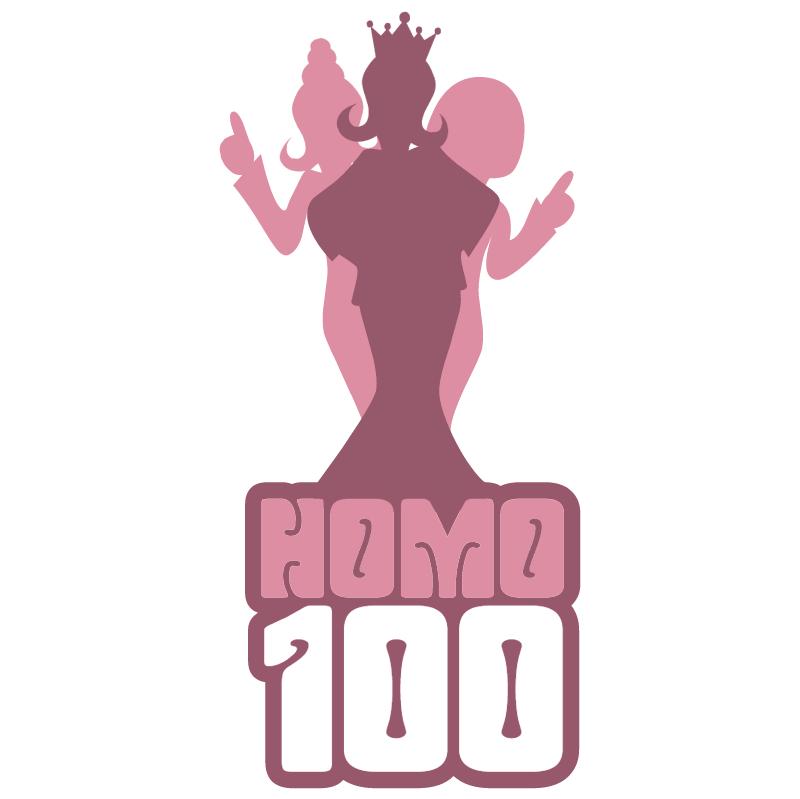Radio 3FM Homo 100 vector