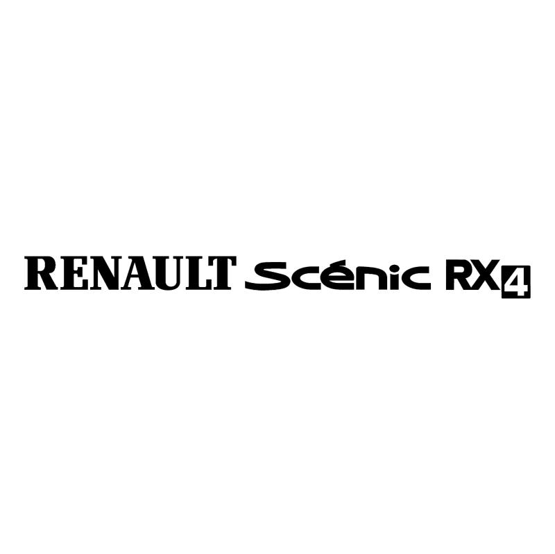 Renault Scenic RX4 vector