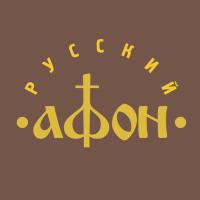 Russian Afon vector