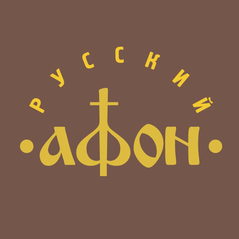 Russian Afon vector logo