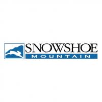 Snowshoe Mountain vector