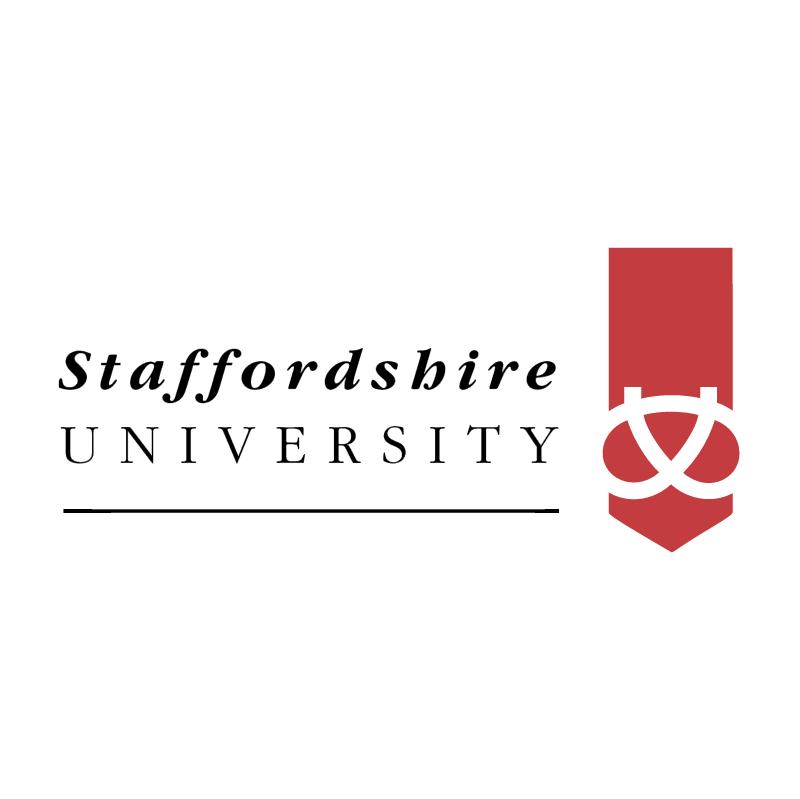 Staffordshire University vector