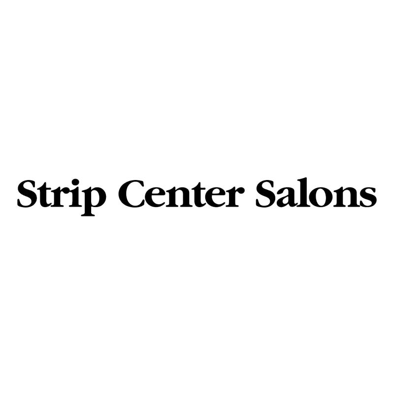 Strip Center Salons vector