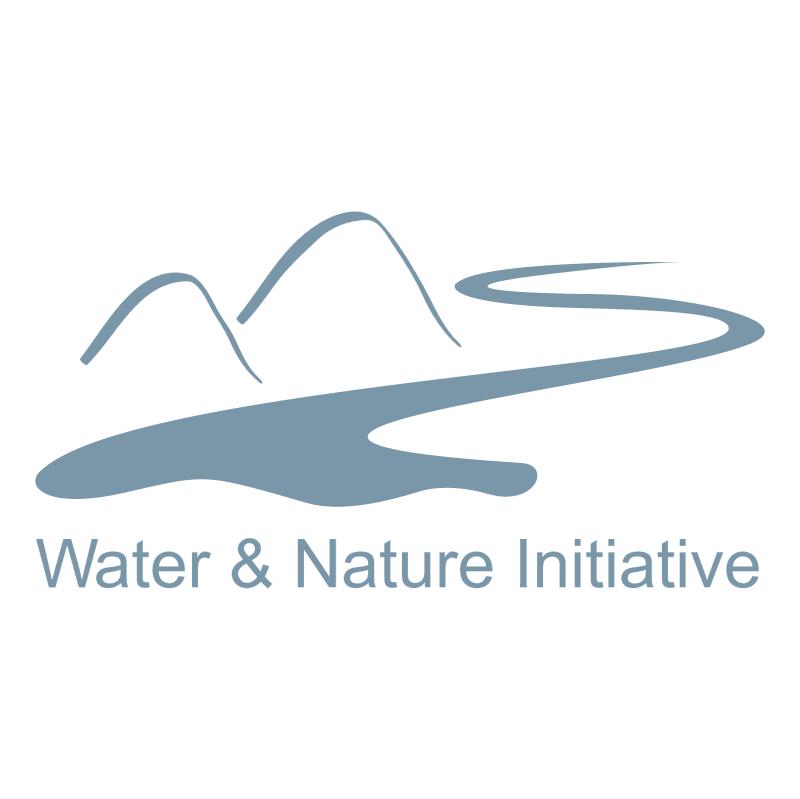 Water & Nature Initiative vector