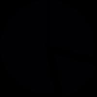 Circular Graph Pieces vector