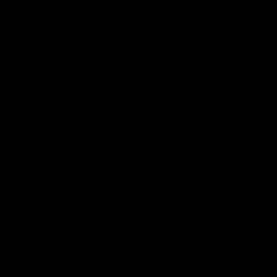Circular Graph Pieces vector logo