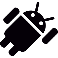 Android Flying vector