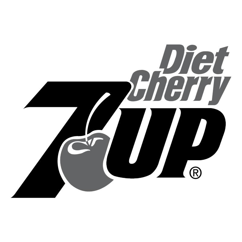 7Up Diet Cherry vector