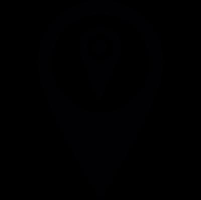 Pins located vector logo