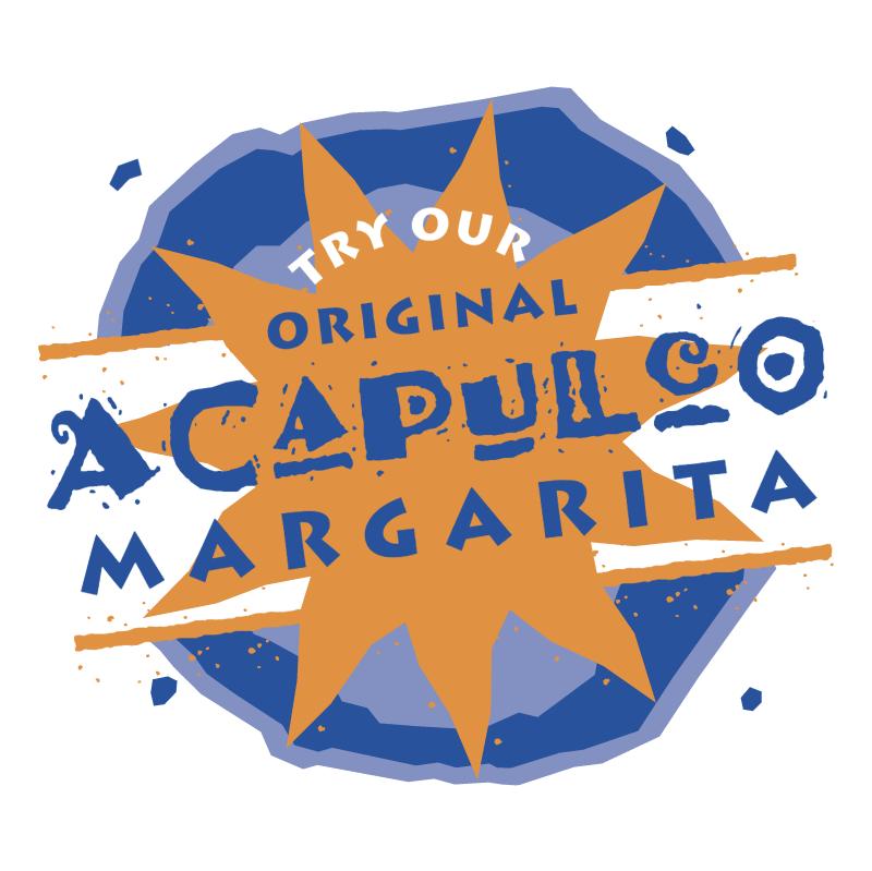 Acapulco Margarita vector logo
