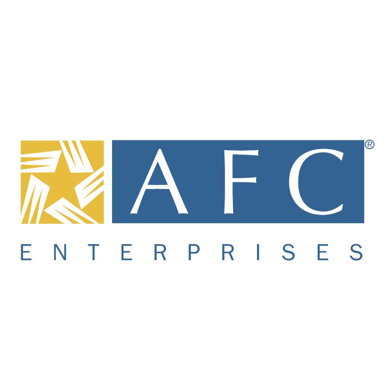 AFC Enterprises 44127 vector