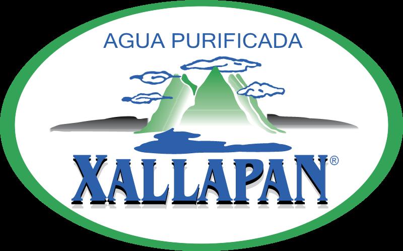 Agua Xallapan vector