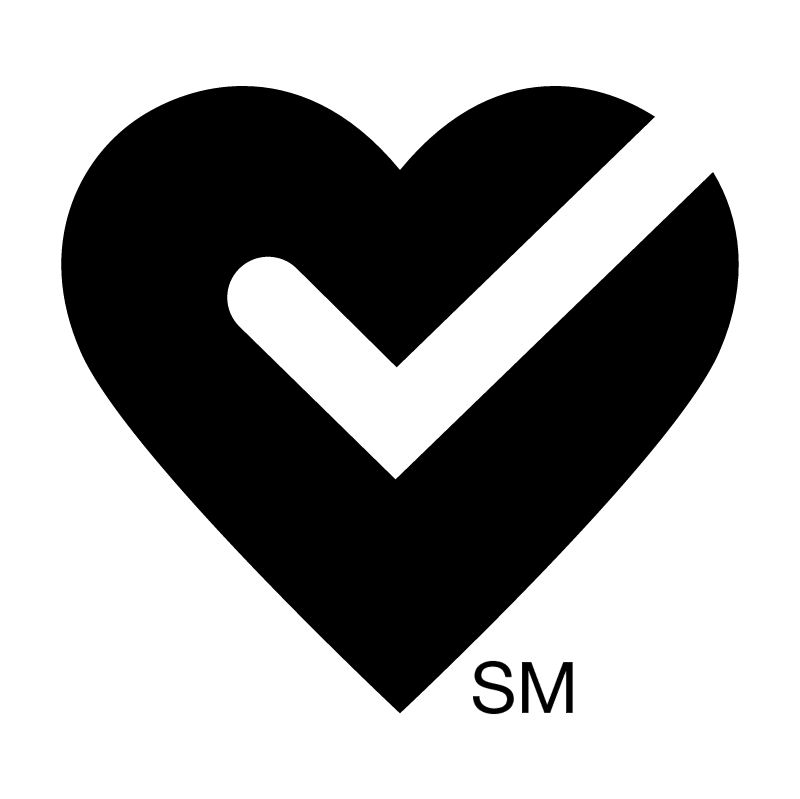 American Heart Approved 47221 vector