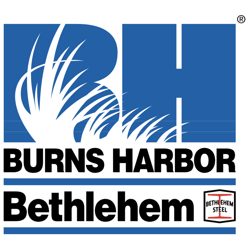 Bethlehem Burns Harbor vector