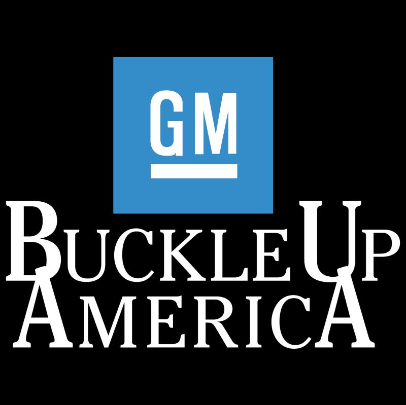 Buckle Up America 42227 vector
