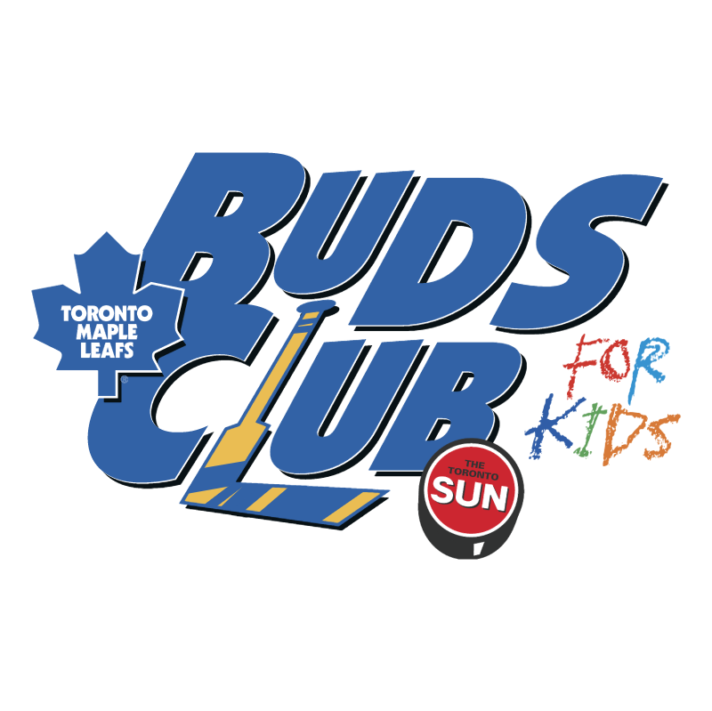 Buds Club For Kids vector logo