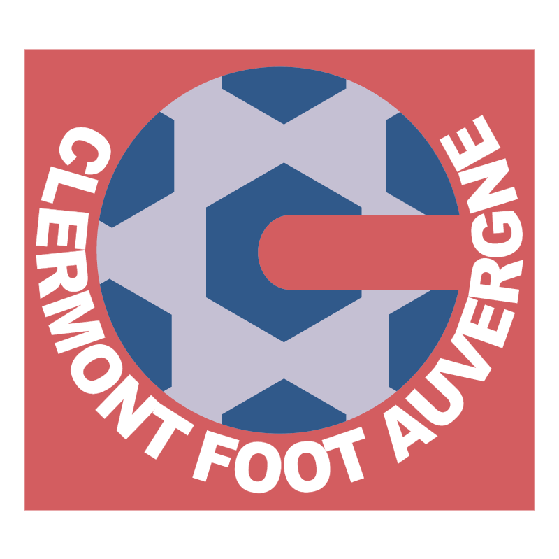 Clermont Foot Auvergne vector