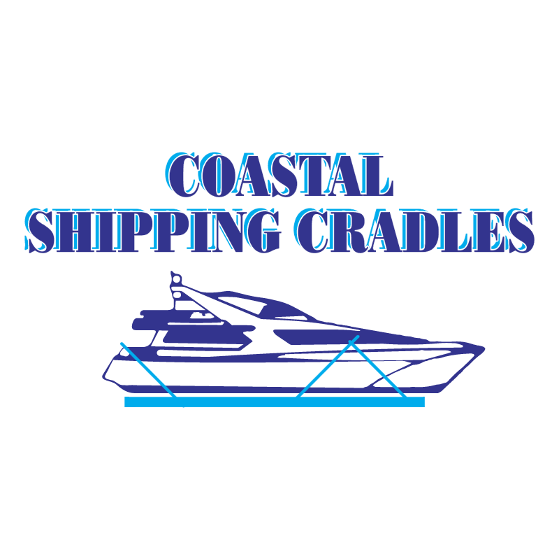 Coastal Shipping Cradles vector logo
