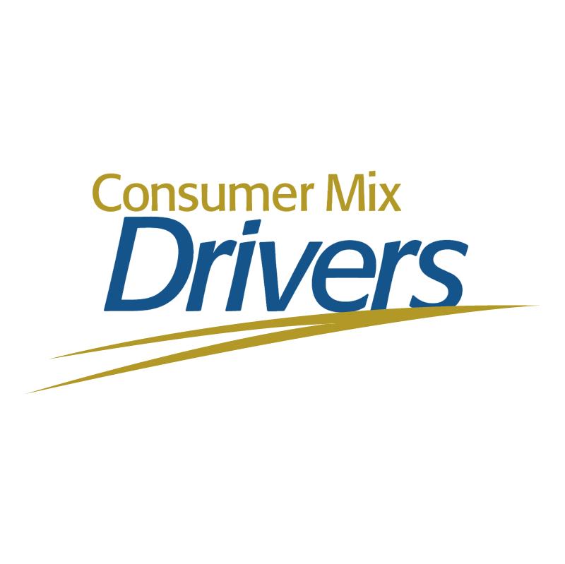 Consumer Mix Drivers vector