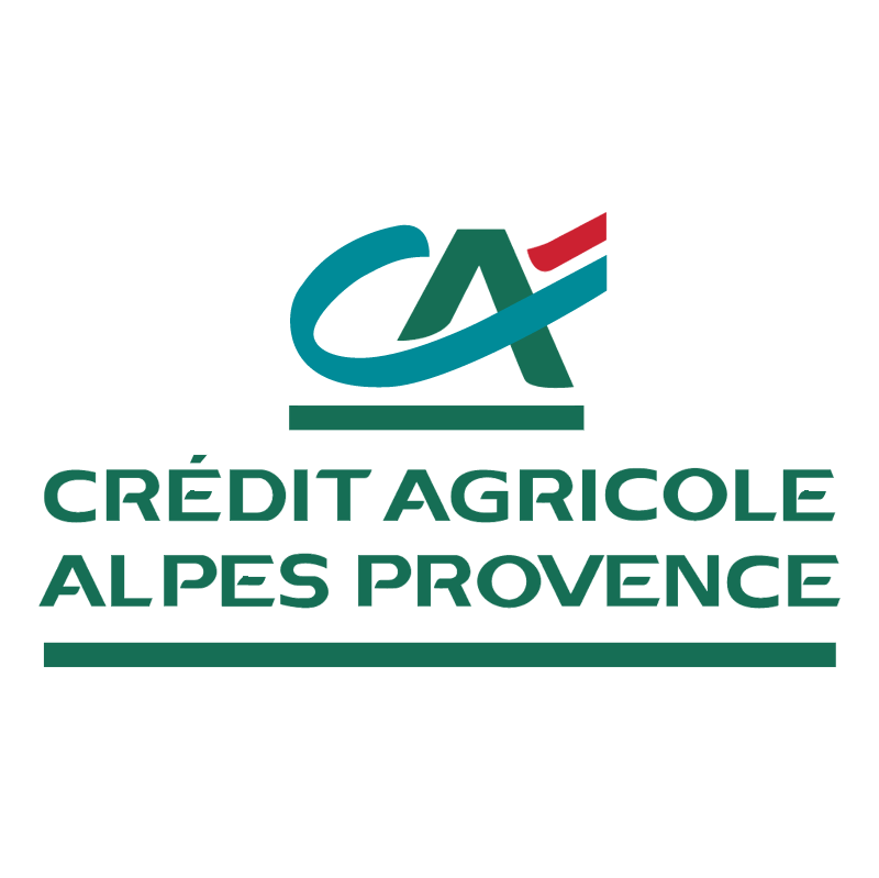 Credit Agricole Alpes Provence vector