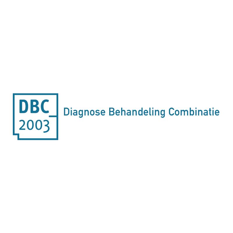 Diagnose Behandeling Combinatie vector logo