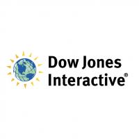 Dow Jones Interactive vector