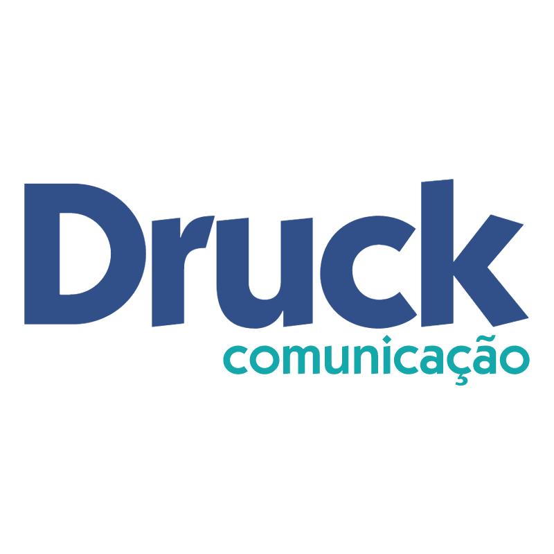 Druck comunicacao vector