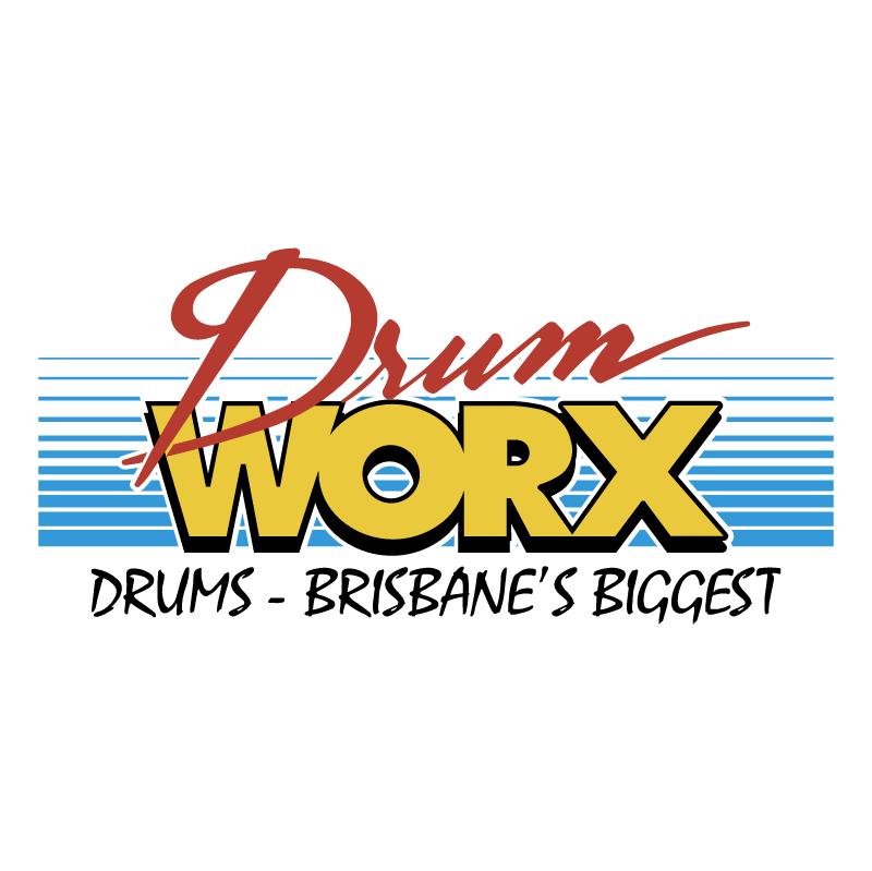 Drum Worx vector logo