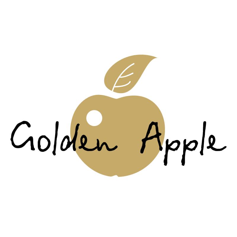 Golden Apple vector logo