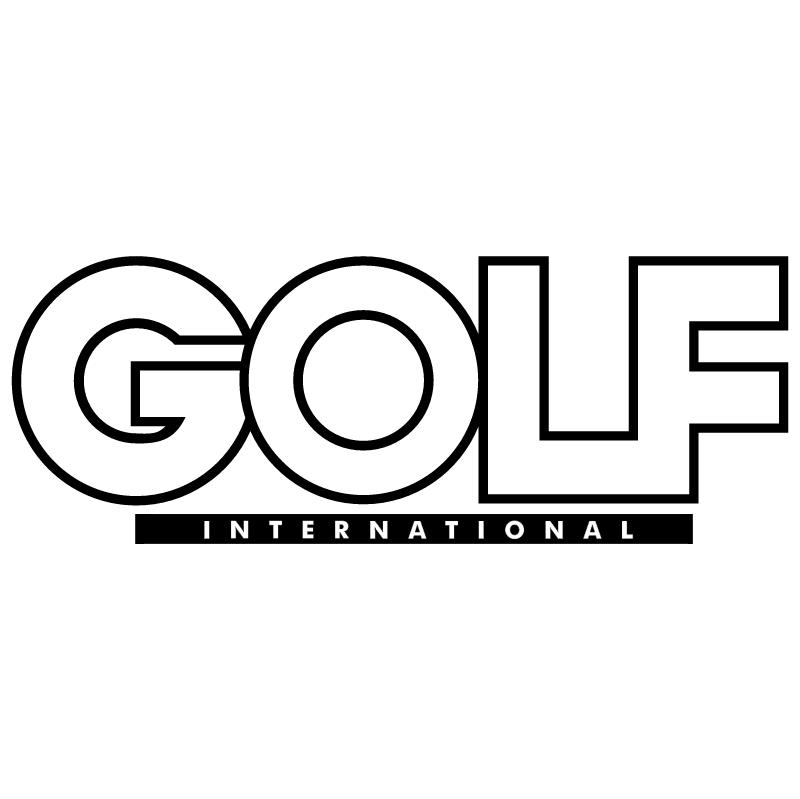Golf International vector