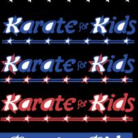 Karate for Kids vector