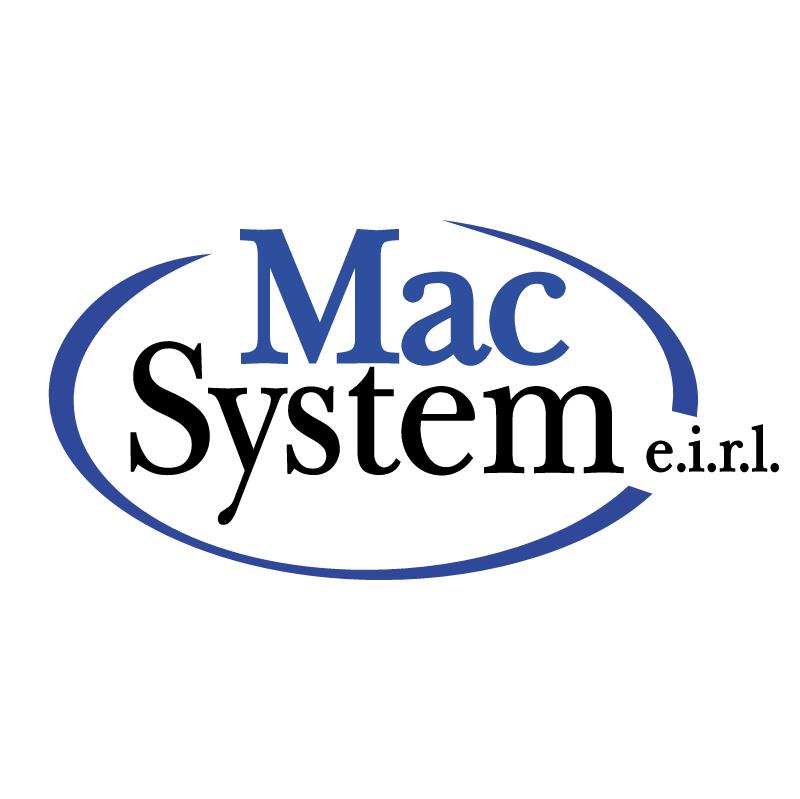 Mac System vector