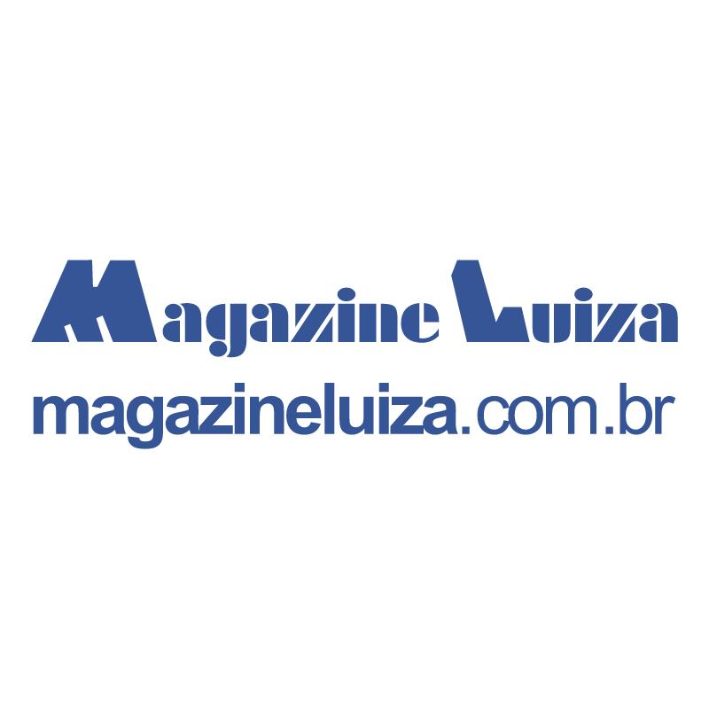 Magazine Luiza vector