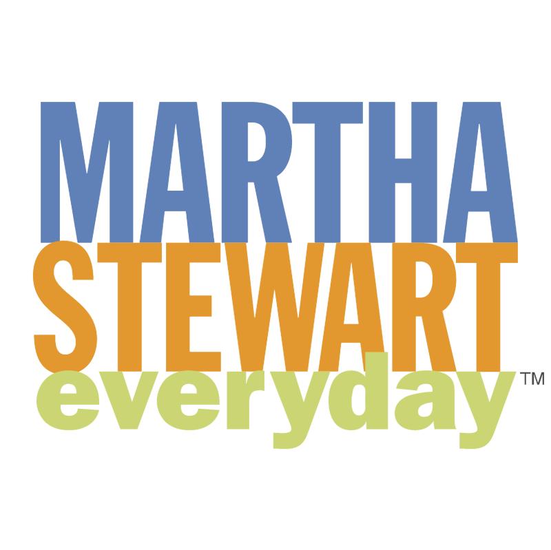 Martha Stewart everyday vector
