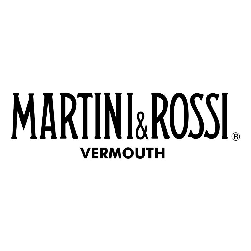 Martini Rossi vector