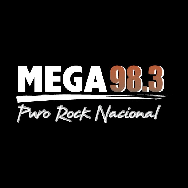 Mega 98 3 vector