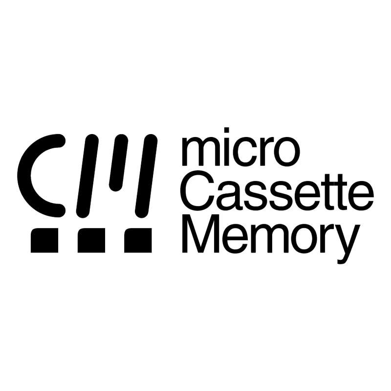 Micro Cassette Memory vector logo