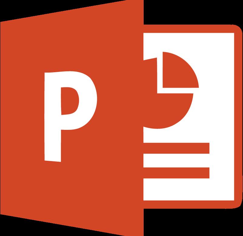 Microsoft PowerPoint 2013 vector